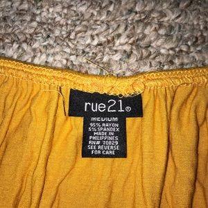 Rue21 Pants - Rue21 off sleeve romper